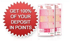 At Playlottoworld.com, he/she automatically qualifies to participate in our Red Carpet offer. Your first deposit will be matched by us with a 100% points bonus enabling you to purchase desired lottery tickets which will also double your winning chances. http://www.playlottoworld.com/promotion/