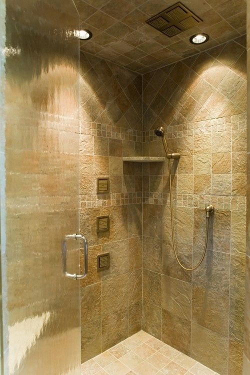 Great Shower...love The Tile Detail By Jcohren