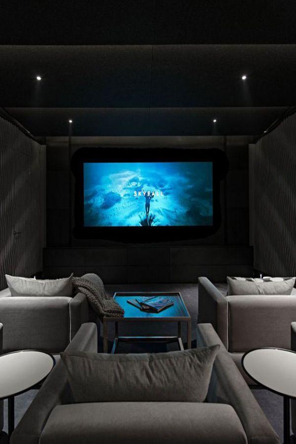 Home Theater Design Houston Property Gorgeous Inspiration Design