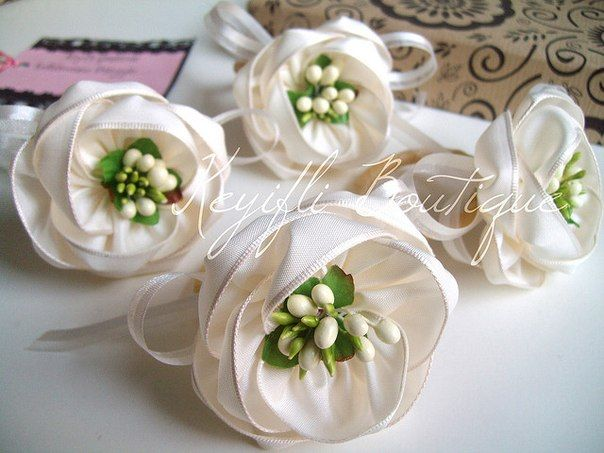 Fabric flowers tutorial ~ Home Decorating Ideas