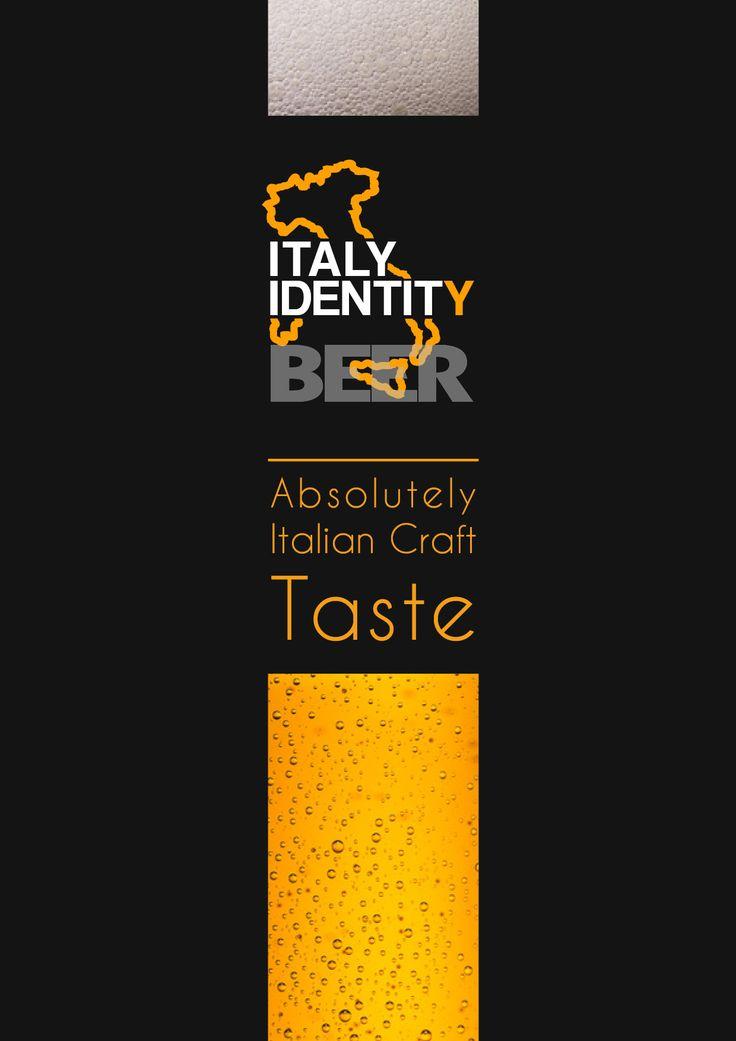 The new italian craft beer by ITALY IDENTITY