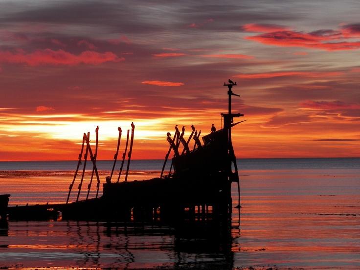 estrecho de Magallanes , Chile