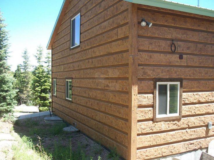 68 best everlog siding concrete log homes images on for E log siding