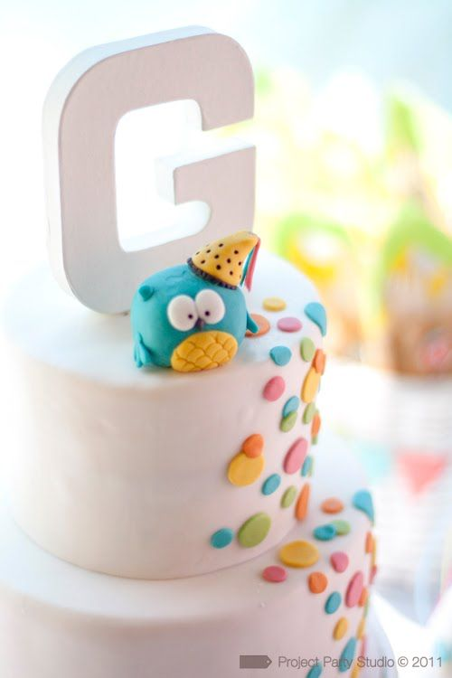 cute little owl cake!