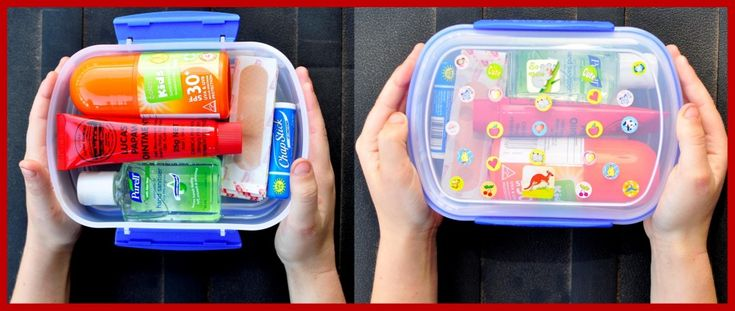 Mini First Aid Kit to put in the kids School Bags - LOVE IT!!