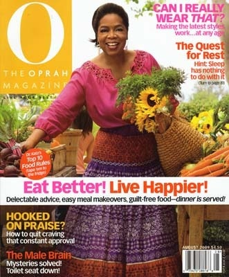 Free One-Year O, The Oprah Magazine Subscription Again!!