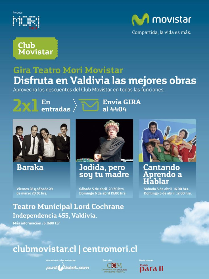 Gira Teatro Mori, Movistar.