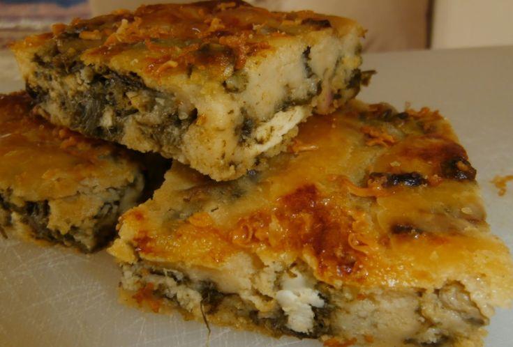 Mπαμπανέτσα (χορτόπιτα χωρίς φύλλο)Αν σας αρέσουν οι πίτες… δοκιμάστε την και δεν θα σας απογοητεύσει!