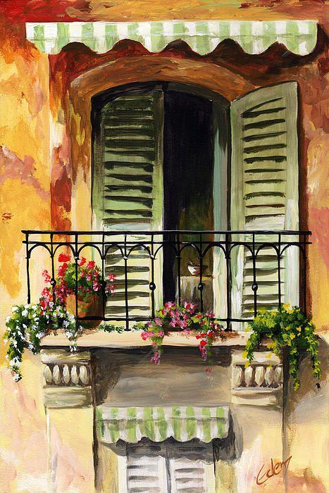 Balcony of Genova. http://fineartamerica.com