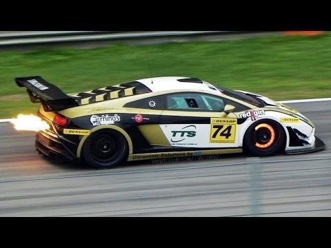 geluid race auto