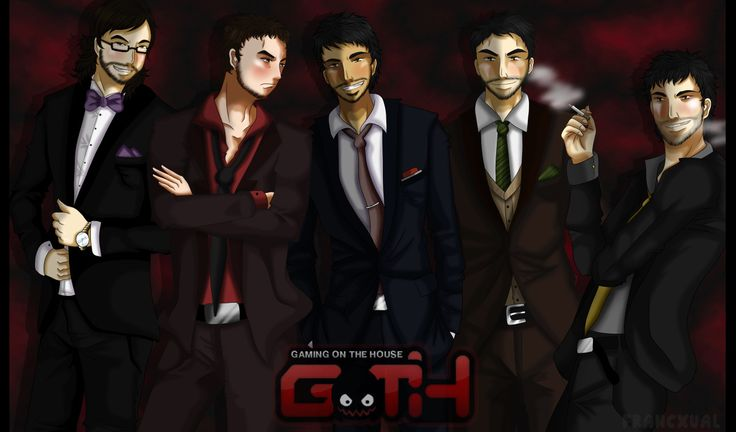 [Jaidefinichon] Los mafiosos del GOTH   by FranCxual