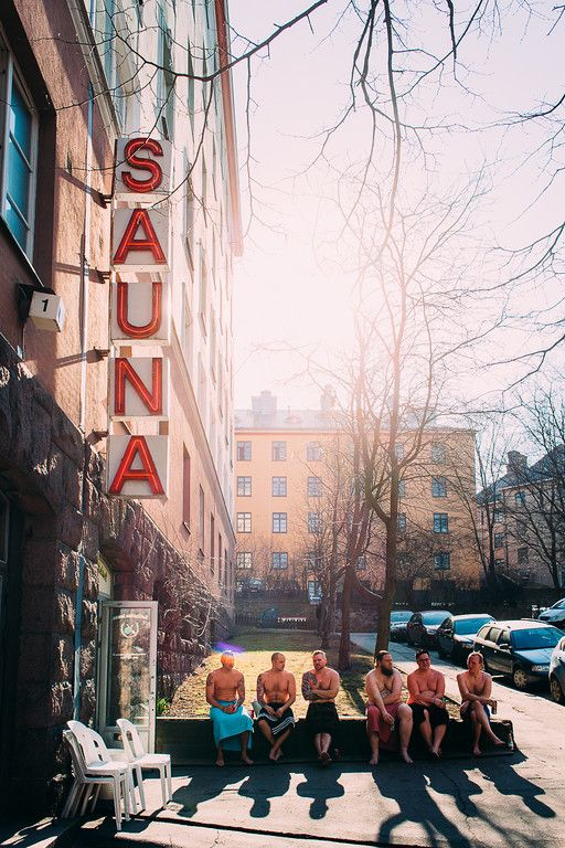 Kotiharju Sauna Kotiharju Sauna is the only wood-burning public sauna left in Helsinki. Originally built in 1928, it has maintained its architecture throughout the decades. | jussihellsten.com & visithelsinki.fi (c) Jussi Hellsten.