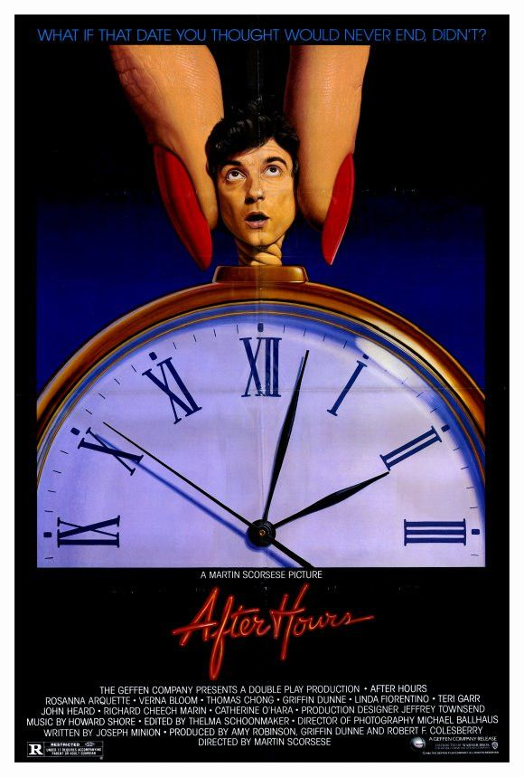 After Hours 27x40 Movie Poster (1985)