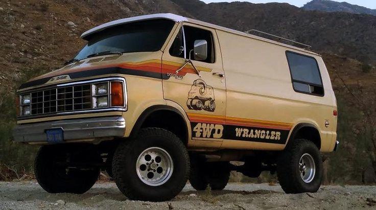 One of 700: 1979 Dodge Wrangler 4x4 Van - http://barnfinds.com/one-of-700-1979-dodge-wrangler-4x4-van/