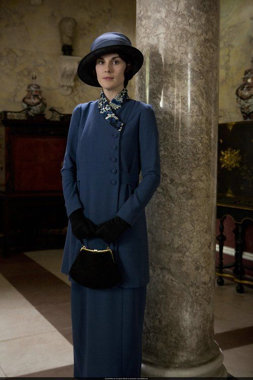 Prime & Proper, Ever the Lady: Lady Mary Crawley, future Countess of Downton Abbey