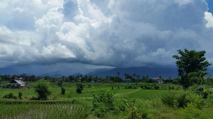 Stormclouds over Panji Hills, North Bali