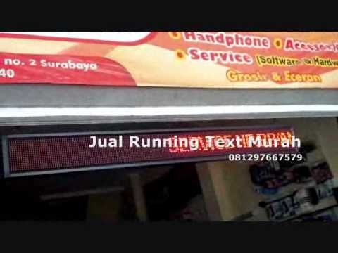 081297667579 Jual Running Text LED Colour Kalimantan,Banjarmasin,Samarinda
