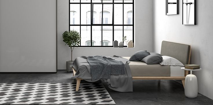 Charlie #letto #bed #letto in legno #letto imbottito #wooden bed #padded bed