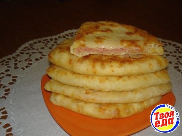 Сырные лепешки за 15 минут - Кулинарные рецепты