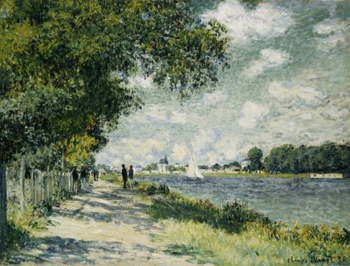 The Seine At Argenteuil, 1875 by Claude Monet - art print from King & McGaw