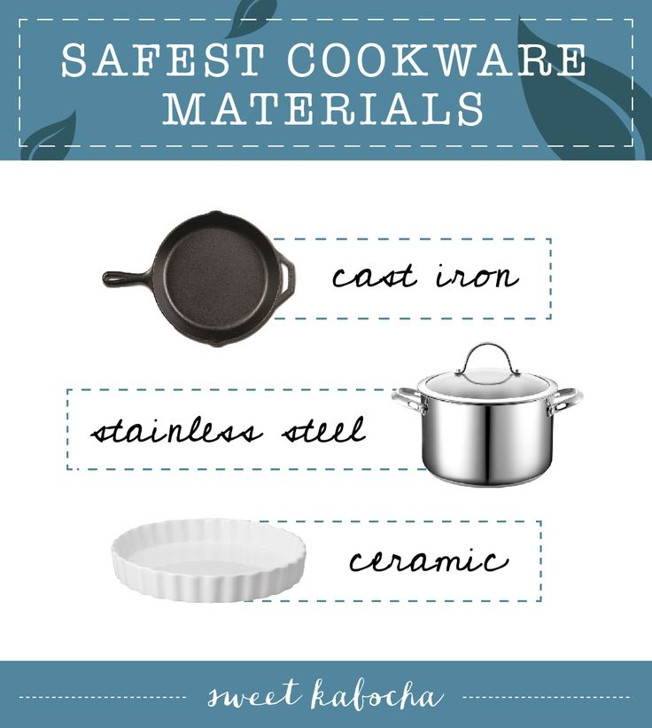 My favorite safe cookware materials