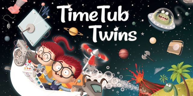 Crea y aprende con Laura: The Adventures of the Time Twins. La próxima gener...