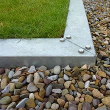 Commercial Galvanised Steel Lawn Edging