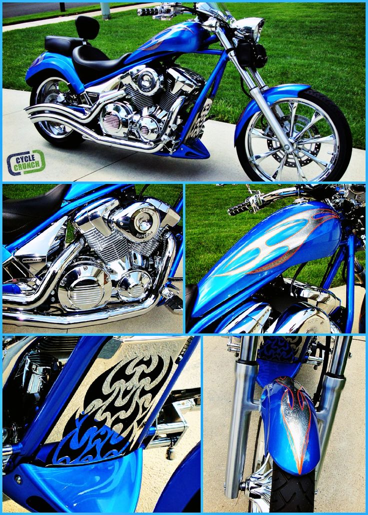 FOR SALE 2010 #Honda #Fury | Located in Fairfax,VA | Fully customized | For more details and photos go to www.cyclecrunch.com/477801 or click the pin | #cyclecrunch #motorcycle #metric #custombike