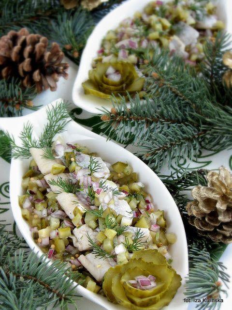 Smaczna Pyza - Sprawdzone przepisy kulinarne: Śledzie z ogórkiem konserwowym