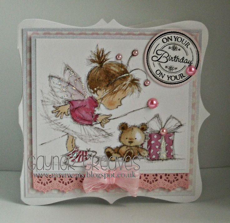 Designs by Gaynor Greaves: Fairy Birthday