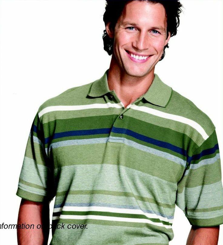 Don Schneider for Filene's (April 2006) #DonSchneider #malemodel #model #FrontManagement #FrontModels #Filenes #smile #stripes #polo