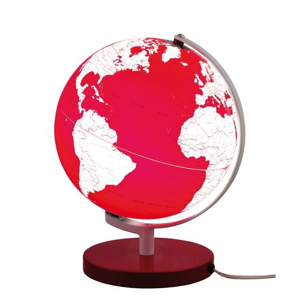 Leuchtglobus Terra Rot design inspiration on Fab.
