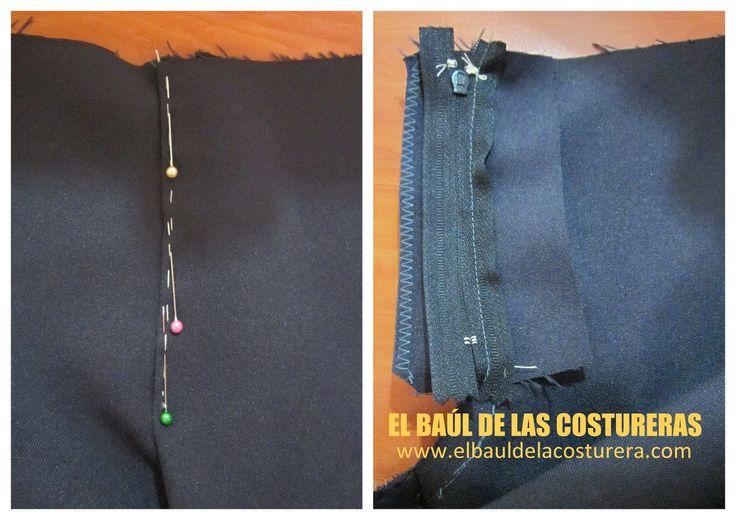 Como coser un cierre a un pantalón