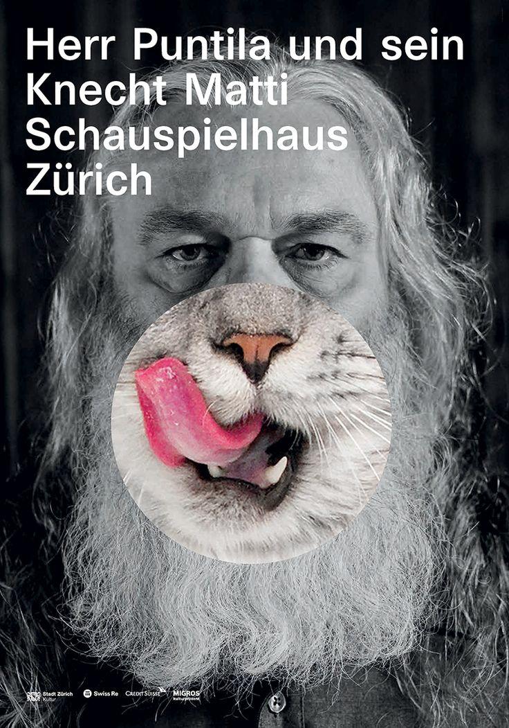 Studio Geissbühler, Zurich Schauspielhaus poster