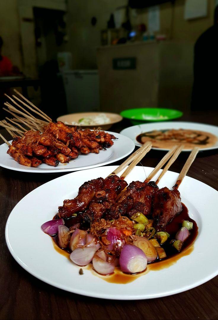 """Sate Kambing & Sate Ayam"", Kim Tek, Jakarta"