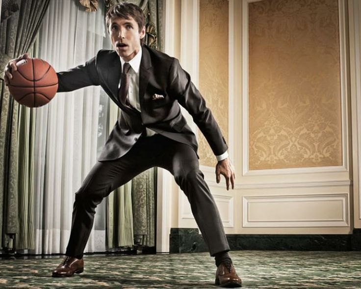 Steve Nash. Oh, I see what you're doing there: http://www.indochino.com/collection/The-Steve-Nash-Collection
