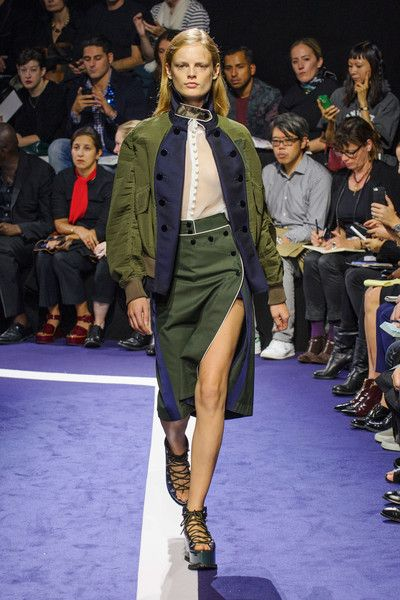 Sacai at Paris Spring 2015