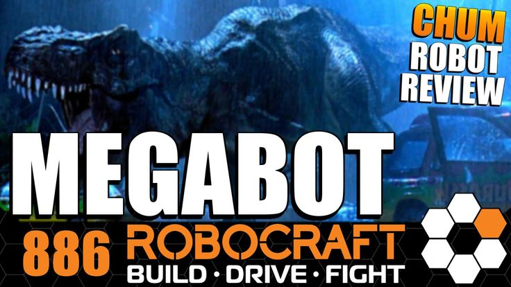 Robocraft Chum Review Mega T v3 MEGABOT by lui20203