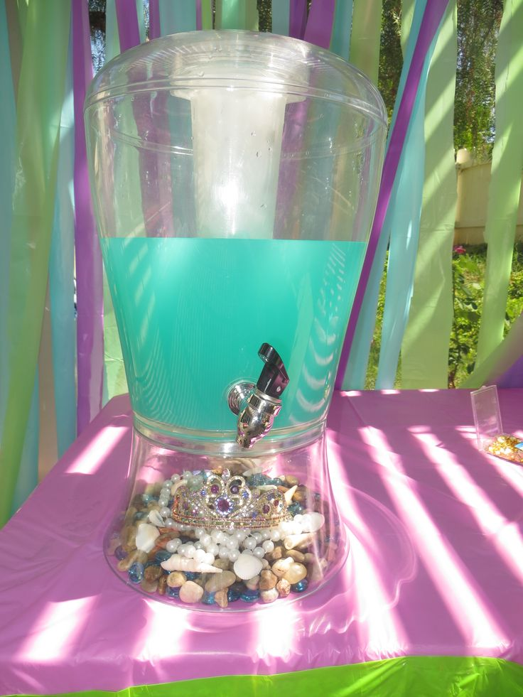 Little mermaid drink station