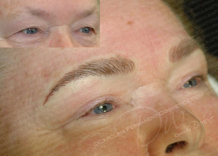 43 best Permanent Makeup Eyebrows images on Pinterest | Hair stroke ...