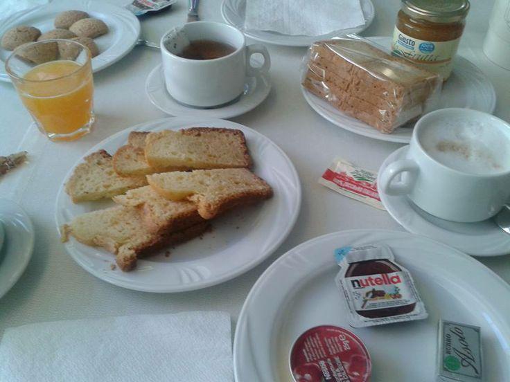 Hotel la Pineta gluten-free breakfast
