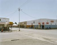 David Goldblatt, At the corner of Kerk and Van Riebeeck Streets, Steynsburg, Eastern Cape. 25 November 2004