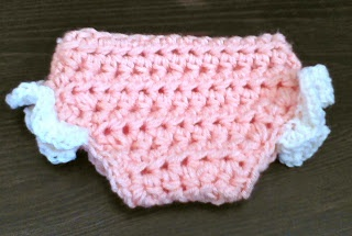 Free Crochet Pattern For Baby Diaper Soaker : CHUNKY CROCHET DIAPER COVER PATTERN Crochet Patterns Only
