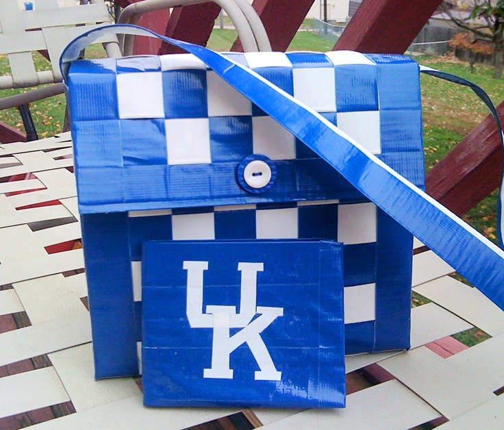 UK Duck Tape purse.
