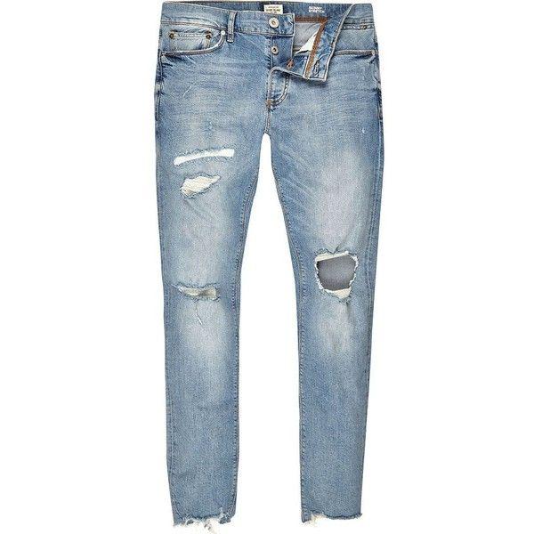 46 best Men´s Clothing images on Pinterest   Ripped jeans men ...