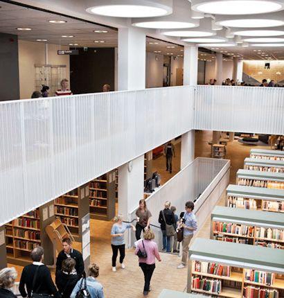 Linnaeus University library (tidl Växjö + Kalmar)