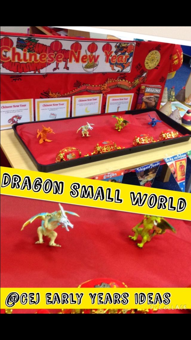 CNY Small world with Twinkl display materials