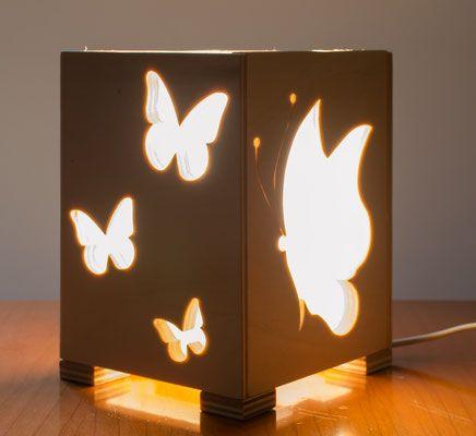 Lampade - Oggettistica in legno