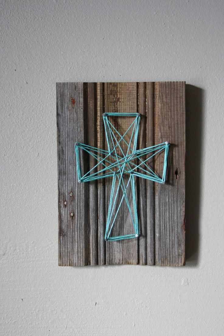 79 best old barn wood ideas images on pinterest wood for Cross wall decor ideas
