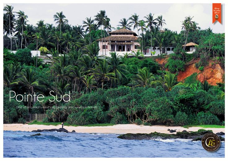 Pointe Sud, Sri Lanka. A captivating and luxurious home. Cocotraie Issue 14.